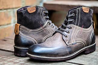 Ботинки мужские высокие кожаные CANGURO VACCHETTA A197-302 Оригинальные, фото 2