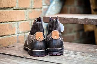 Ботинки мужские высокие кожаные CANGURO VACCHETTA A197-302 Оригинальные, фото 3