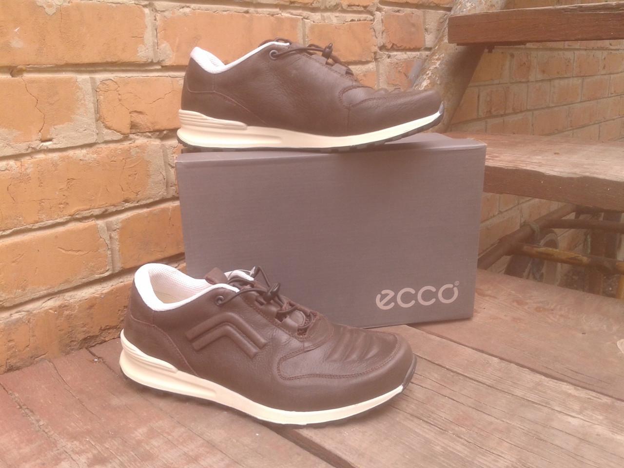 Кроссовки мужские ECCO 232493 коричневые кожа