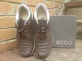 Кроссовки мужские ECCO 232493 коричневые кожа, фото 2