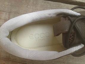 Кроссовки мужские ECCO 232493 коричневые кожа, фото 3