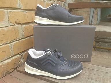 Кроссовки мужские ECCO 232493 синий/белый (кожа)