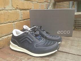 Кроссовки мужские ECCO 232493 синий/белый (кожа), фото 3