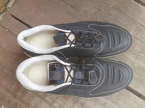 Кроссовки мужские ECCO 232493 синий/белый (кожа), фото 2