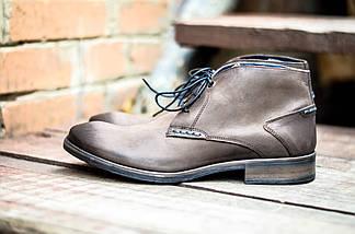 Мужские ботинки оригинальные CANGURO NUBUK A025-318 (натур. кожа), фото 2