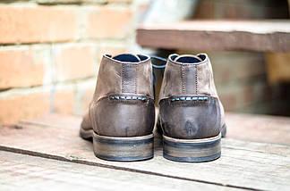 Мужские ботинки оригинальные CANGURO NUBUK A025-318 (натур. кожа), фото 3