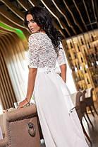 Нежное гипюровое платье  в пол , фото 3