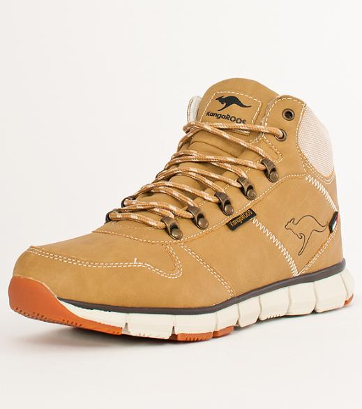 Ботинки мужские зимние KangaROOS-BlueRun 8023 бежевые