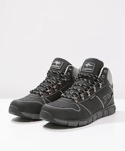 Оригинальные черные ботинки KangaROOS-BlueRun 8023 черные зимние