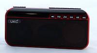Портативная колонка с фонариком UKC SPS U188 работает на 18650 Red