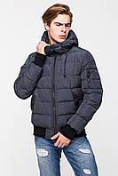 Удобная стильная мужская зимняя куртка нано -пух