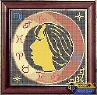 Схема для полной вышивки бисером - Знак Зодиака-Дева, Арт. ЗБп-4