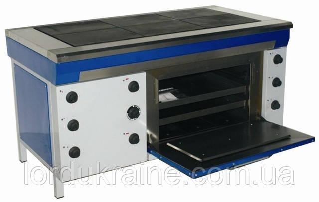 Плита электрическая промышленная с духовкой ЭПК-6ШС (стандарт) ТМ ЭФЕС