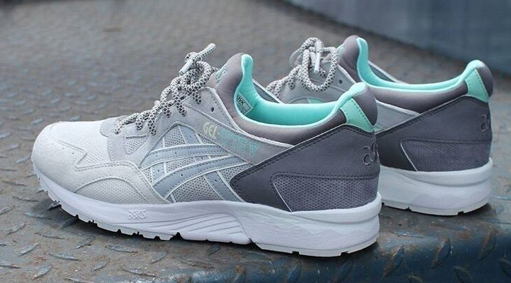 Кроссовки мужские ASICS GEL-LYTE V H63VK Grey Green - BBZ Shoes   Wear в 0433639b46d