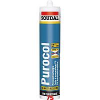 Полиуретановый клей Soudal Purocol, Пурокол, 310 мл