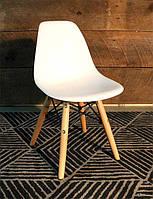 Детский стул AC-0117W Eames DSW Kids белый пластик, дизайн Charles & Ray Eames