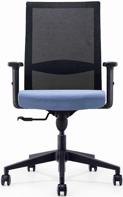 Офисное кресло спинка сетка Эспект черный