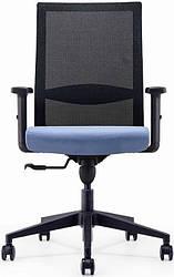 Офисное кресло спинка сетка Enrandnepr  Эспект черный