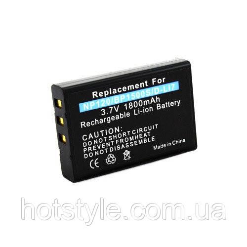Сменная батарея для фотоапарата Fuji NP-120 NP120 F10 F11 M603 Zoom
