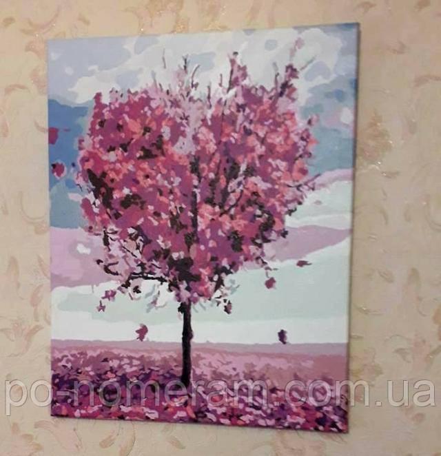 Нарисованная картина Марипоса Дерево любви MR-Q1218