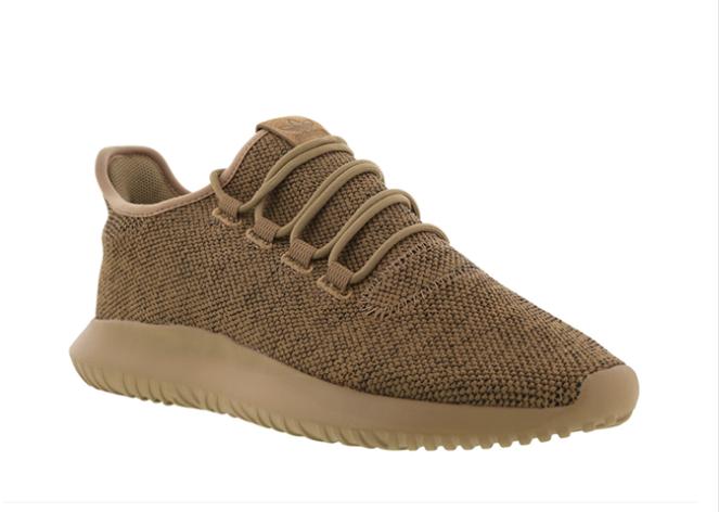 Низкие мужские кроссовки Adidas TUBULAR Shadow KNIT Cardboard бежевые