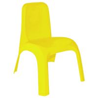 Стульчик детский пластиковый (желтый) арт. 101062