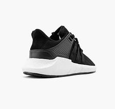 Кроссовки мужские Adidas EQUIPMANT Boost EQT Support 93 Black/Grey/White, фото 3