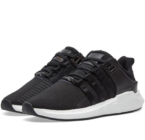 Кроссовки мужские Adidas EQUIPMANT Boost EQT Support 93 Black/Grey/White