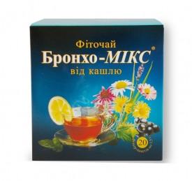 """ФІТОЧАЙ """"БРОНХО-МІКС"""" 20 ПАКЕТІВ ПО 1,5 Г"""