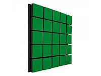 Акустический панель Ecosound Tetras Wood Green 50x50см 50мм цвет зелёный, фото 1