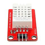 Модуль з цифровим датчиком DHT22/AM2302 температури і вологості підвищеної точності., фото 2