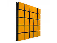 Акустический панель Ecosound Tetras Wood Orange 50x50см 50мм цвет оранжевый, фото 1