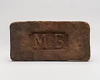 Декоративный кирпич с клеймом М.Б красный