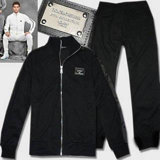 04c2d8a36895 Мужской теплый спортивный костюм на флисе, черный   продажа, цена в ...