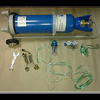 Кислородный баллон (кислородный ингалятор) объёмом 10 литров
