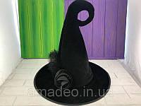 """Шляпа Ведьмы """"Роза"""", колпак - аксессуар для вашего образа"""