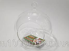 Шар стеклянный подвесной 14см 8972