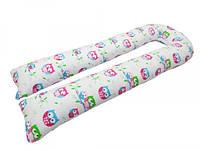 *Подушка для беременных KIDIGO U-образная Сова (с наволочкой)