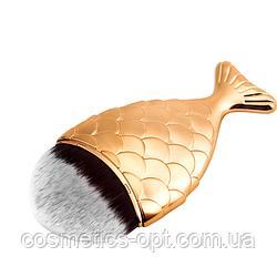 Кисть Рыбий хвост (золотая)