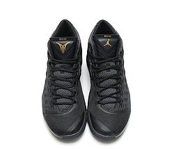 Кроссовки мужские JORDAN MELO M13 X Black/Gold Черные, фото 3