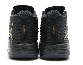 Кроссовки мужские JORDAN MELO M13 X Black/Gold Черные, фото 2