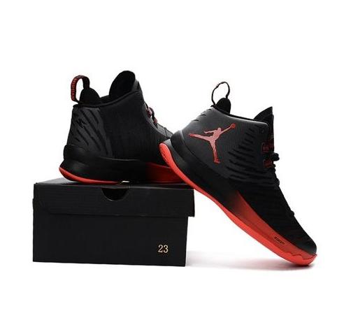 Кроссовки мужские JORDAN Super.Fly 5x Black/Red