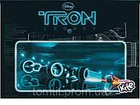 "Папка пластиковая (на кнопке, формат А4), ""Tron"", ТМ Kite"