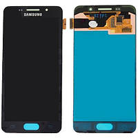 Дисплей в сборе с сенсорной панелью (GH97-18249B) для смартфона Samsung Galaxy A3 2016 Duos SM-A310