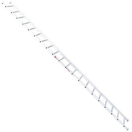 Лестница алюминиевая приставная 20 ступеней INTERTOOL LT-0120, фото 2