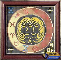 Набор для полной вышивки бисером - Знак Зодиака-Близнецы, Арт. ЗБп-1