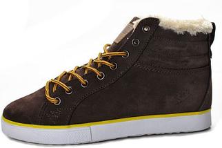 Кроссовки мужские зимние Adidas Ransom Valley Brown с мехом, фото 2