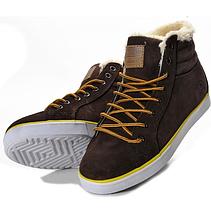 Кроссовки мужские зимние Adidas Ransom Valley Brown с мехом, фото 3