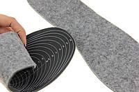 """Зимние стельки для обуви """"Шерстяной фетр на мягкой латексной пене"""" обрезные размер 28-45 (28,3см)"""