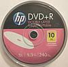 DVD+R Hp 8.5 гб 8х double layer inkjet printable (10 шт)